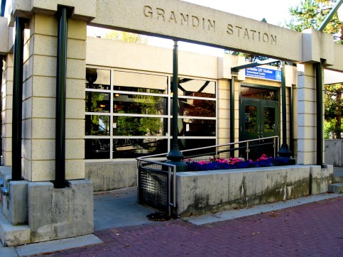 Grandin Station. Photo by Bill Burris