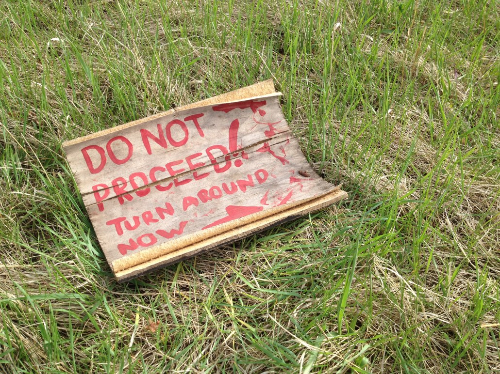 Do Not Proceed!