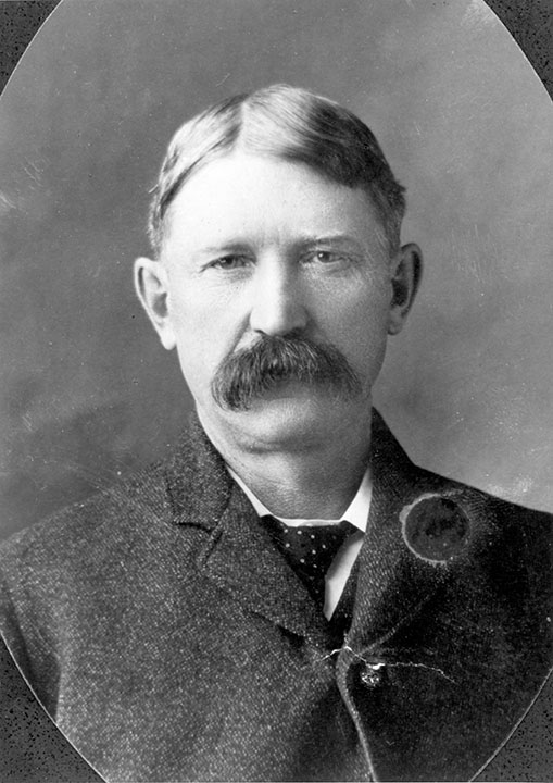 Richard Secord ca. 1905. Image courtesy of the City of Edmonton Archives.