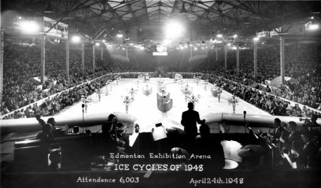 Ice Cycles of 1948, April 24, 1948. City of Edmonton Archives, EA-160-1016. Photo by Hubert Hollingworth.