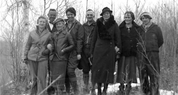 Alpine Club of Canada Members - Edmonton Area, circa 930