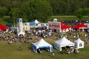 Italian Pavilion at Heritage Festival in Hawrelack Park. Image courtesy of E. R. Cavaliere, supplied by Adriana A. Davies.