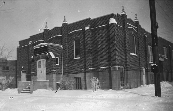 TE Bissell Memorial Institute building, 1936. Courtesy of Bissell Centre Archives.