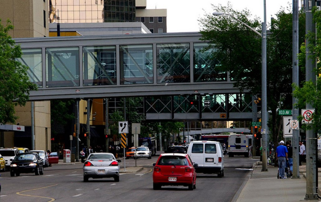"""Pedway City"" 101 Street. Photo by Flickr user Kurt Bauschardt © June 18, 2010 Creative Commons License - https://www.flickr.com/photos/kurt-b/4722962371/"