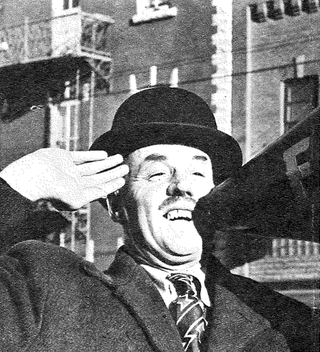Pete Jamieson, 1957. Photo by Harry Rowed. Clippings file at the City of Edmonton Archives.