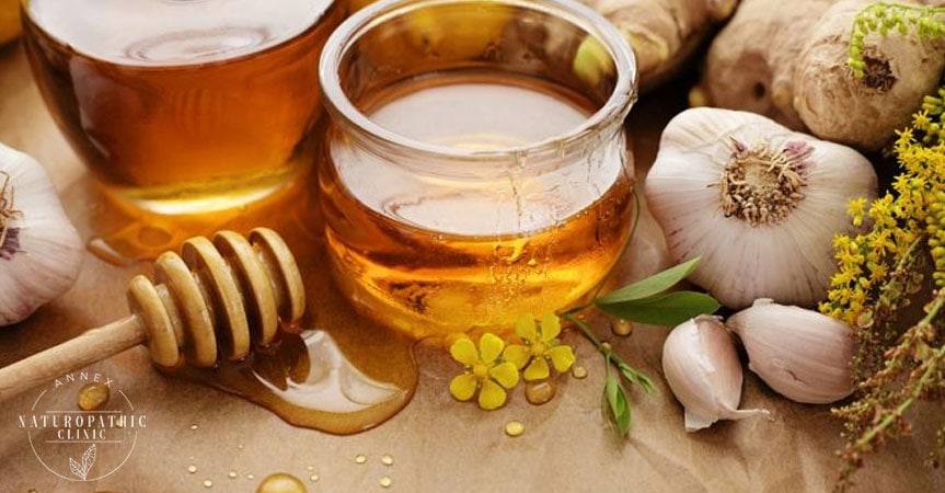 Infused Garlic Honey for Sore Throats | Annex Naturopathic Clinic | Naturopath Toronto