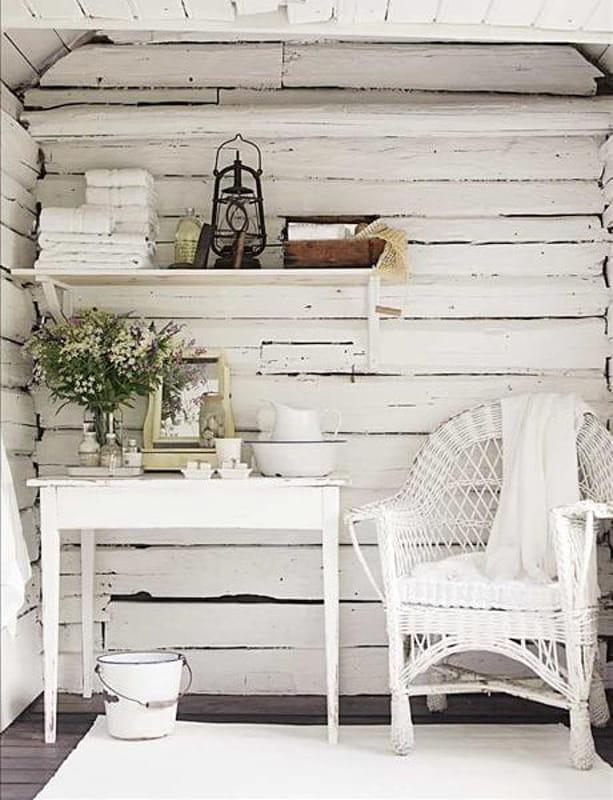 Ecco perché ti consigliamo il total white per pareti, arredi ed elementi decorativi. Arredare Casa In Stile Shabby Chic