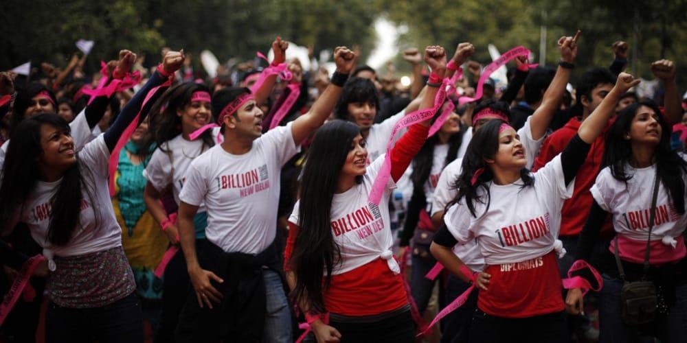 Risultato immagini per ONE BILLION VIOLENZA
