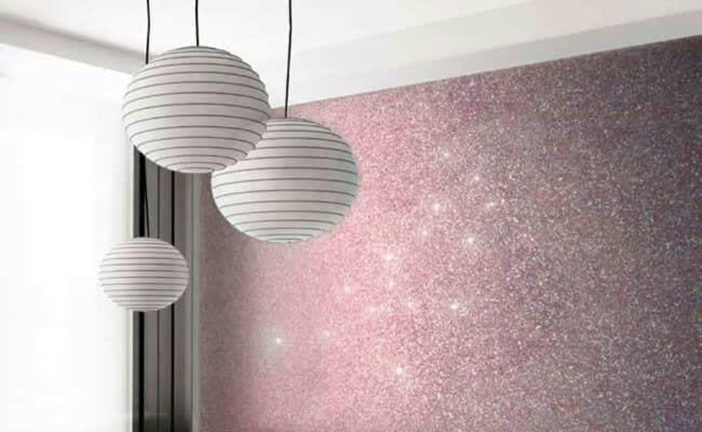 Soluzioni e tecniche per dipingere le pareti di casa fai da te e potrai. Come Rinnovare Casa Con La Pittura Glitterata Per Pareti