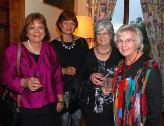 Valerie Hanlon, Flo Jeremiah, Noelene Cater and Anne Pennay