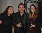 Racquel Cox, Rod Cuddihy and Sarah Griffith
