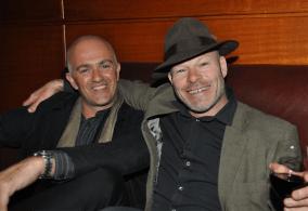 Richard Palmer and Damon Bennett