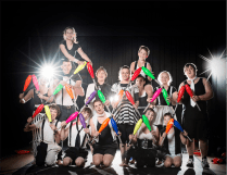 """Warehouse Circus' """"Refract""""... probably more dizzying than refractive."""