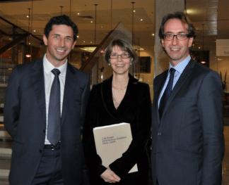 Ryan Stokes, Anne-Marie Schwirtlich and Mark Fraser
