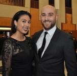 Bianca Hummel and Joseph Mammoliti