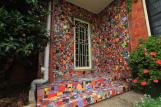 Mosaic Door close up