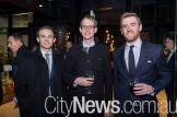 Rob Andersen, Matt Baillie and Luke Furner