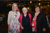 Senator Katy Gallagher, Shelly Atkins and Annette Ellis