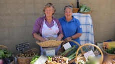 Wynlen House SlowFood Farm owners Bronwyn and Helen.