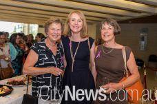 Amanda McLennan, Sharon Morris and Janet Farnan