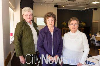 Carol Carlyon, Noreen Corsini and Margaret Phillips