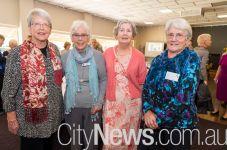Christine Marshall Cox, Janet Bedloe, Vira Thomas and Lis Aplin