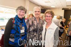 Florence Lemon, Margot Lynch and Joan Heath