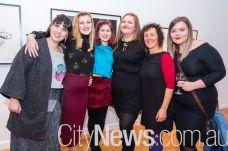 Bec Setnicar, Kelly Hayes, Mimi Fairall, Jess Higgins, Michelle Hallinan and Sophie Bishop
