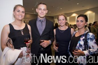 Bethany Gallagher, Joshua Nitschke, Alice Brabazon and Jessica Law