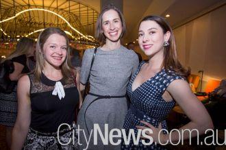 Liz Pallas, Alexandra Jane and Clare Backwell