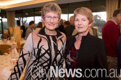 Lynne Petherbridge and Annita George