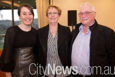 Sarah James and Sue and Bill Horsfall