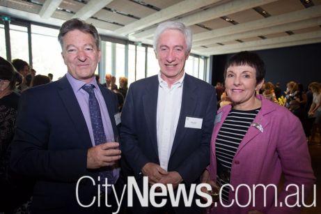 Ian Hubbard, Gerry Ryan and Kate Carnell