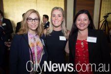 Mary O'Neill, Anna Neil and Sharon Baldaccino