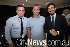 Alex Taylor, Michele Troni and Giorgio Daviddi