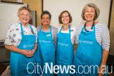 Monica Cossart, Marguerite Wiseman, Judy McMahon and Sue Claughton