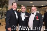 Richard Rolfe, Keith Payne and Jim Preston
