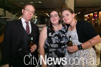 Stuart Biggs, Sam Barrett and Kate Firkins