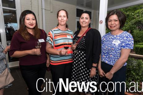 Wita Puspita, Belinda Wood, Kristy Greenwood and Shirley Hardjadinata