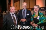 Dennis Foley, Jerry Schwab and Jill Barnes