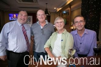 Ryan Wilson, Steve Conroy, Julie Finch-Scally and Kic Scally