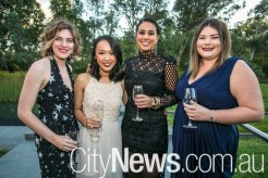 Ariana Covich, Lisa Wong, Yasamin Nooraii and Bridget Madigan