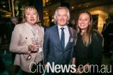 Lisa Thorburn, Greg Davies and Sara Evans