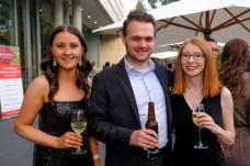 Gemma Sutherland, Adrian Curtis and Claire Sutton