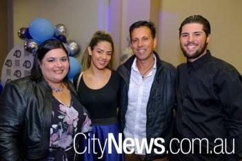 Chrisoula, Evelyn, Dimitri and Yianni Karatzas_