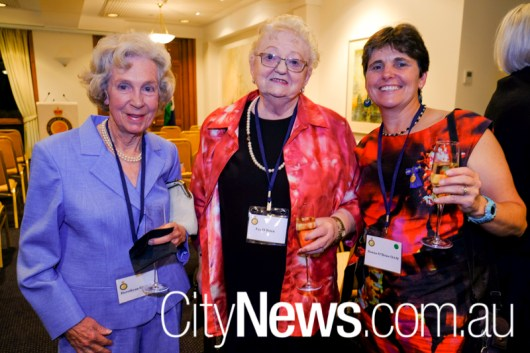 Dorothyanne Gurevitch with Faye and Donna O'Brian