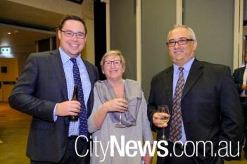 James Ireland, Michele West and Alan Ward