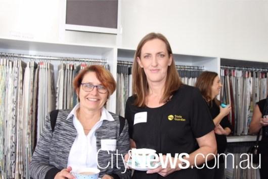 Cheryl Warnock and Kristin Miller