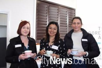 Emily Short, Aurella Hugi and Jess Sutherland