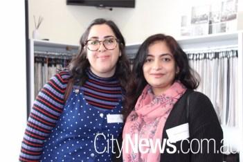 Hiba Attar and Nasreen Paleka